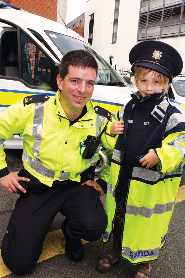 Open Day at Blackrock Garda Station