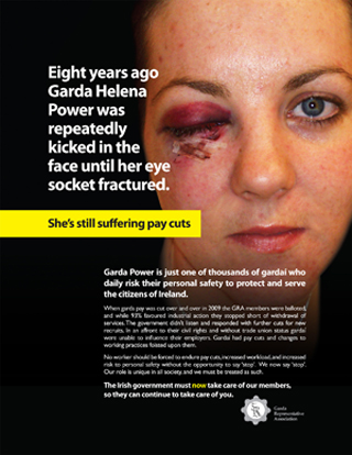 Garda Representative Association Pay Campaign Helena Power Nov16