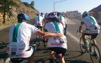 Charity cycling in Croatia