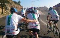Charity cycling in Croatia
