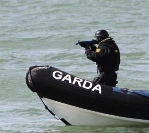16/4/2013. Picture shows An Garda Siochana carryin