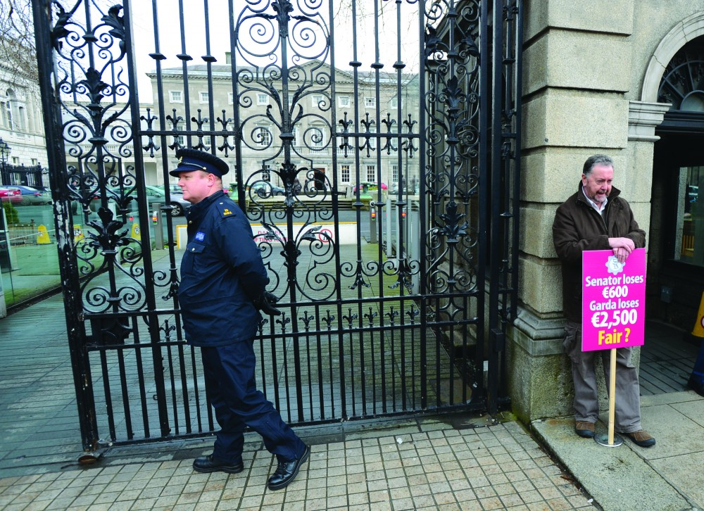 20/3/2013. Gardai Against Pay Cuts
