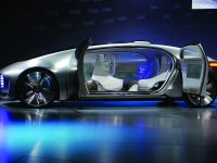 LAS VEGAS, NV - JANUARY 05:  A Mercedes-Benz  F 015 autonomous driving automobile is displayed at the Mercedes-Benz press event at The Chelsea at The Cosmopolitan of Las Vegas for the 2015 International CES on January 5, 2015 in Las Vegas, Nevada. CES, the world's largest annual consumer technology trade show, runs from January 6-9 and is expected to feature 3,600 exhibitors showing off their latest products and services to about 150,000 attendees.  (Photo by David Becker/Getty Images)