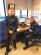 Fleeced: Garda Daryl Scanlon and Garda David Woods pose for a snap