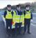 Checkpoint 'Briggan: Garda Joe Callan, Sergeant Stephen McCabe and Garda Darren McGeever at a rural MIT checkpoint